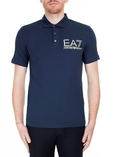 EA7 Emporio Armani  Polo Yaka T Shirt Erkek Polo S 6Gpf16 Pj03Z 1554 Lacivert